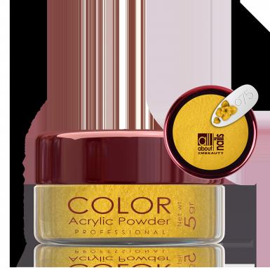 Akril prah u boji - svileni 075