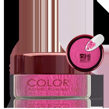 Akril prah u boji - svileni 076