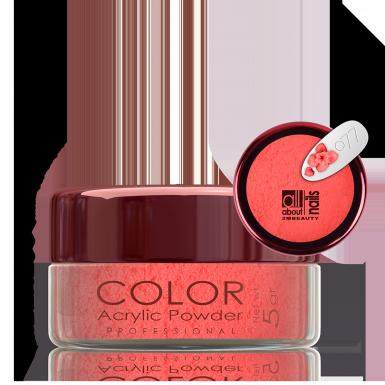 Akril prah u boji - svileni 077
