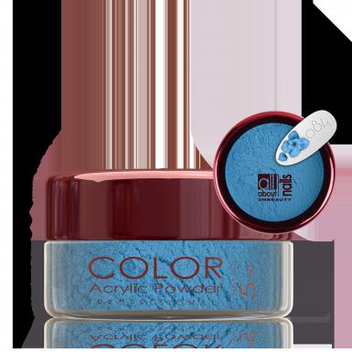 Akril prah u boji - svileni 084
