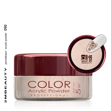 Akril prah u boji - svileni 090