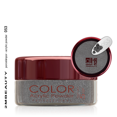 Akril prah u boji - svileni 053