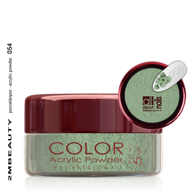 Akril prah u boji - svileni 054