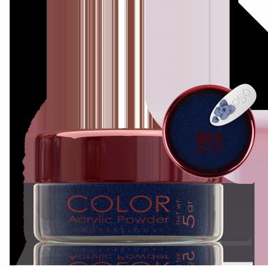 Akril prah u boji - svileni 056