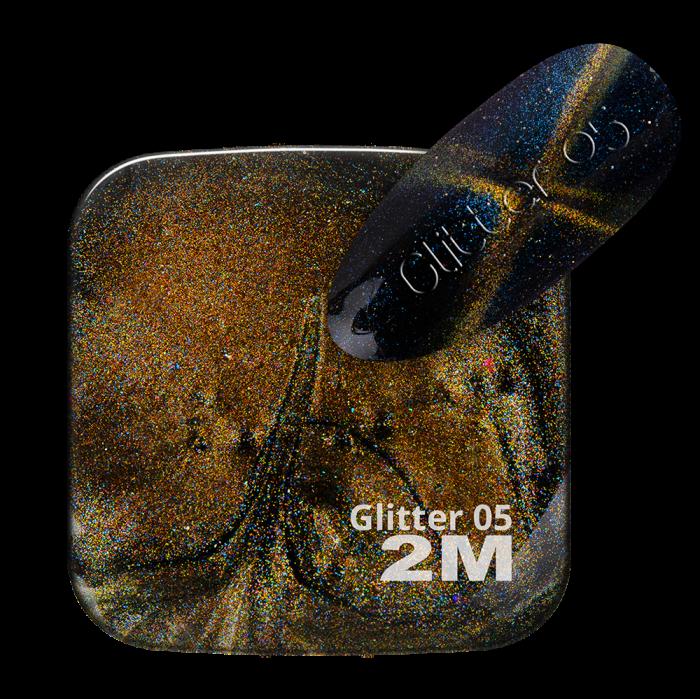 MAGNET SUPER EFFECT GLITTER 05