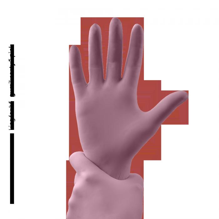 Gumene rukavice - pink