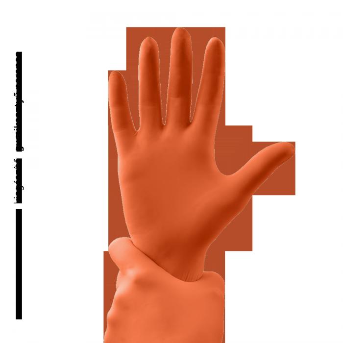 Gumene rukavice - narandžasta