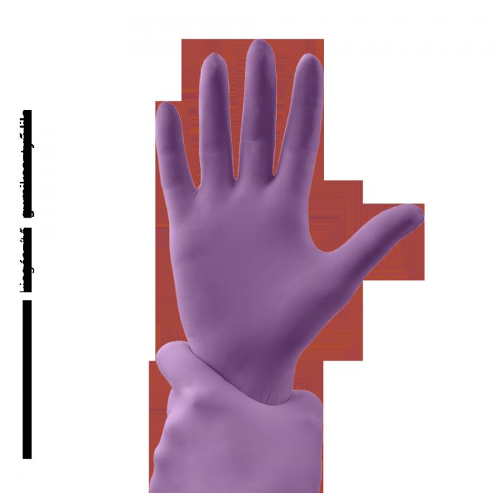 Gumene rukavice - ljubičasta